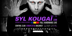 Syl Kougaï will perform at Control Club in Bucarest – 19MAY2016